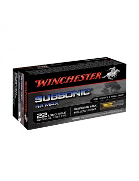 MUNITION ,22LR,SUBSONIC...